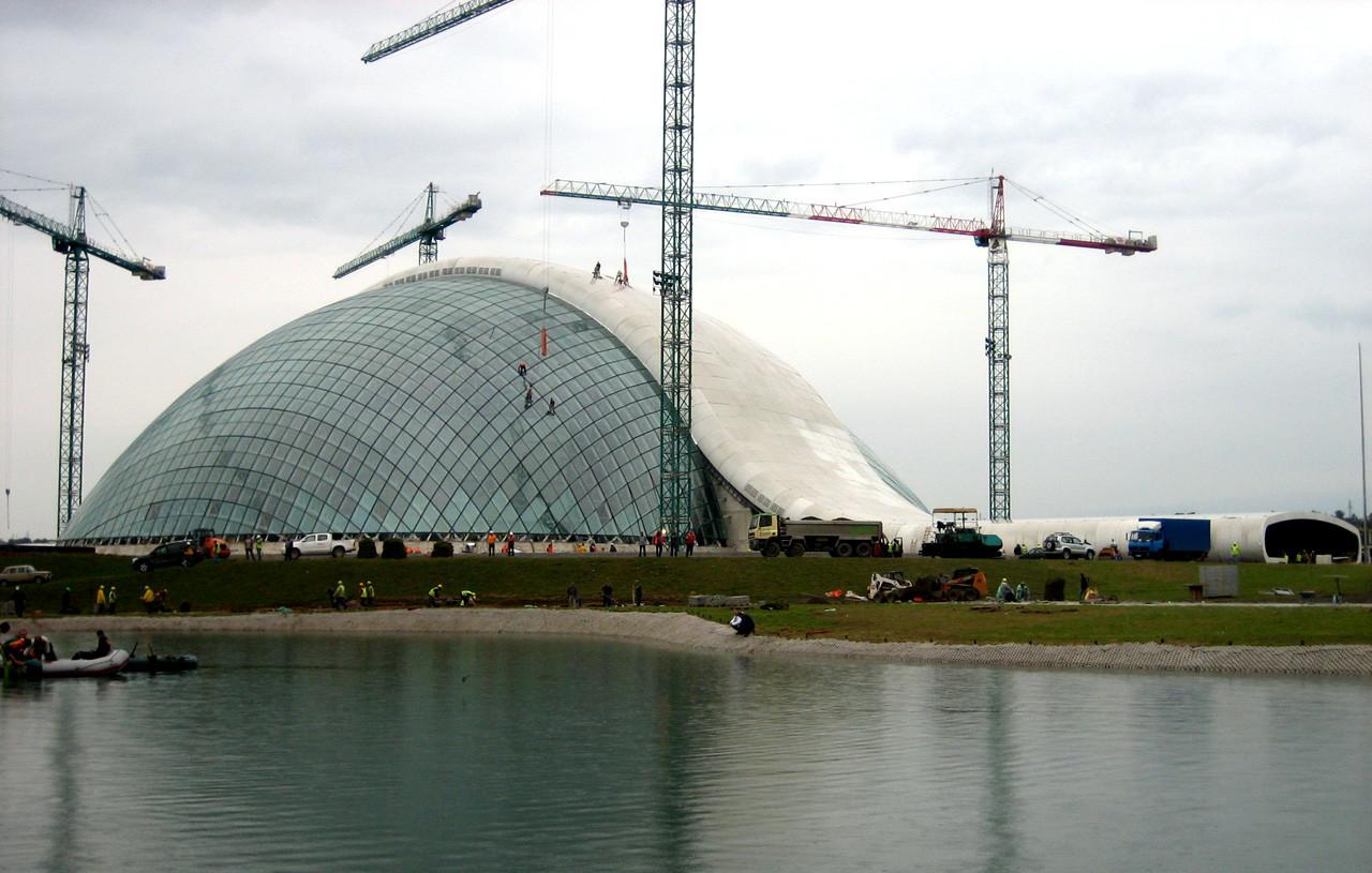 En Construcción: Nuevo Parlamento de Giorgia / CMD Ingenieros