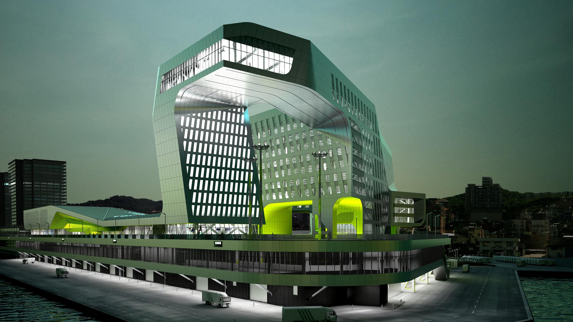 Courtesy of Neil M. Denari Architects