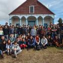 Metodología de trabajo en terreno, Programa Chiloé / Isla Lemuy 2013-2014. Image © Carlos Hevia
