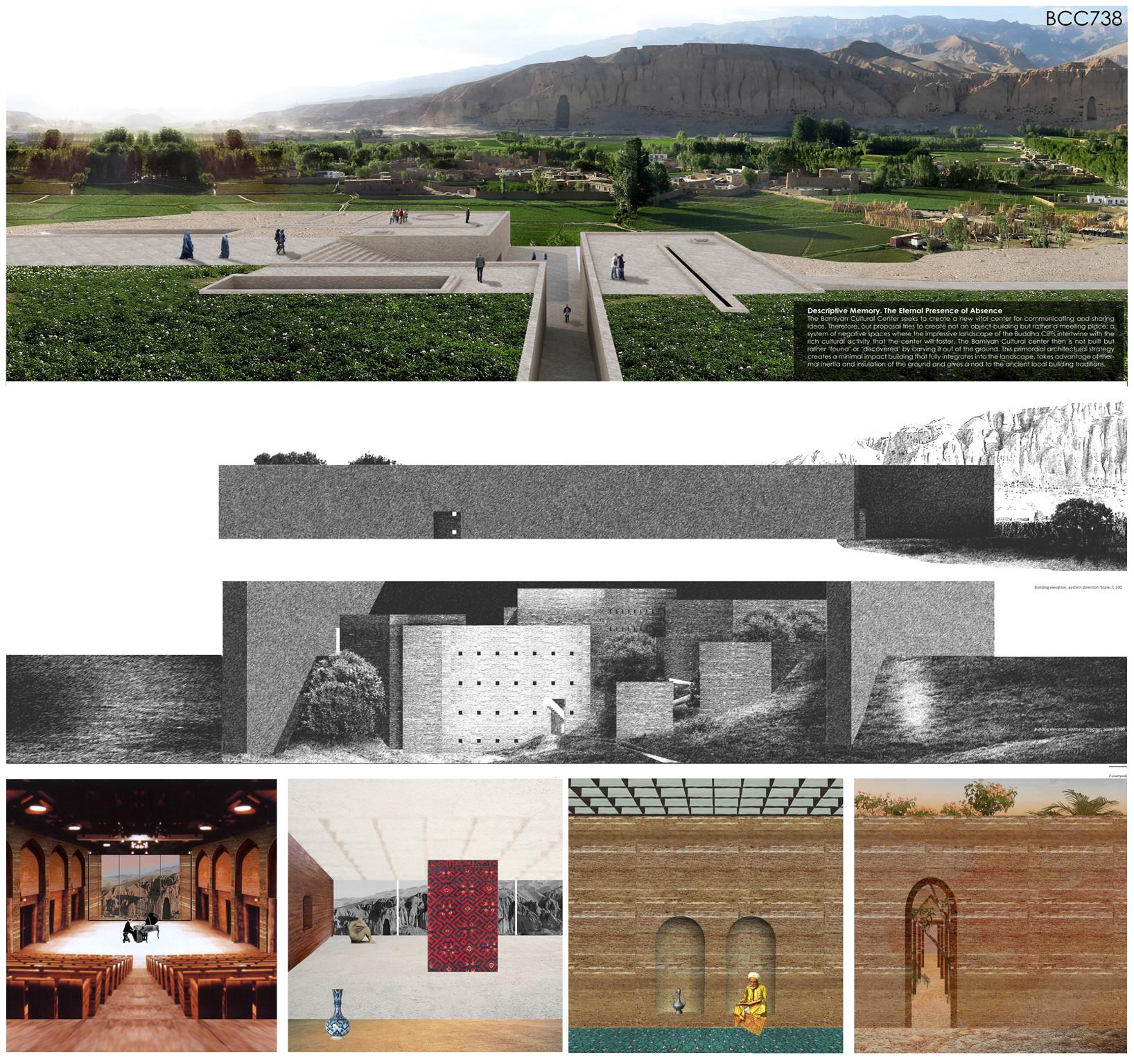 UNESCO presenta las propuestas ganadoras para el Centro Cultural de Bamiyán en Afganistán