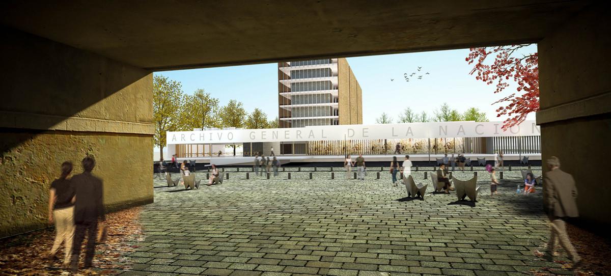 Primer Lugar Concurso para el Nuevo Edificio Archivo General de la Nación en Argentina