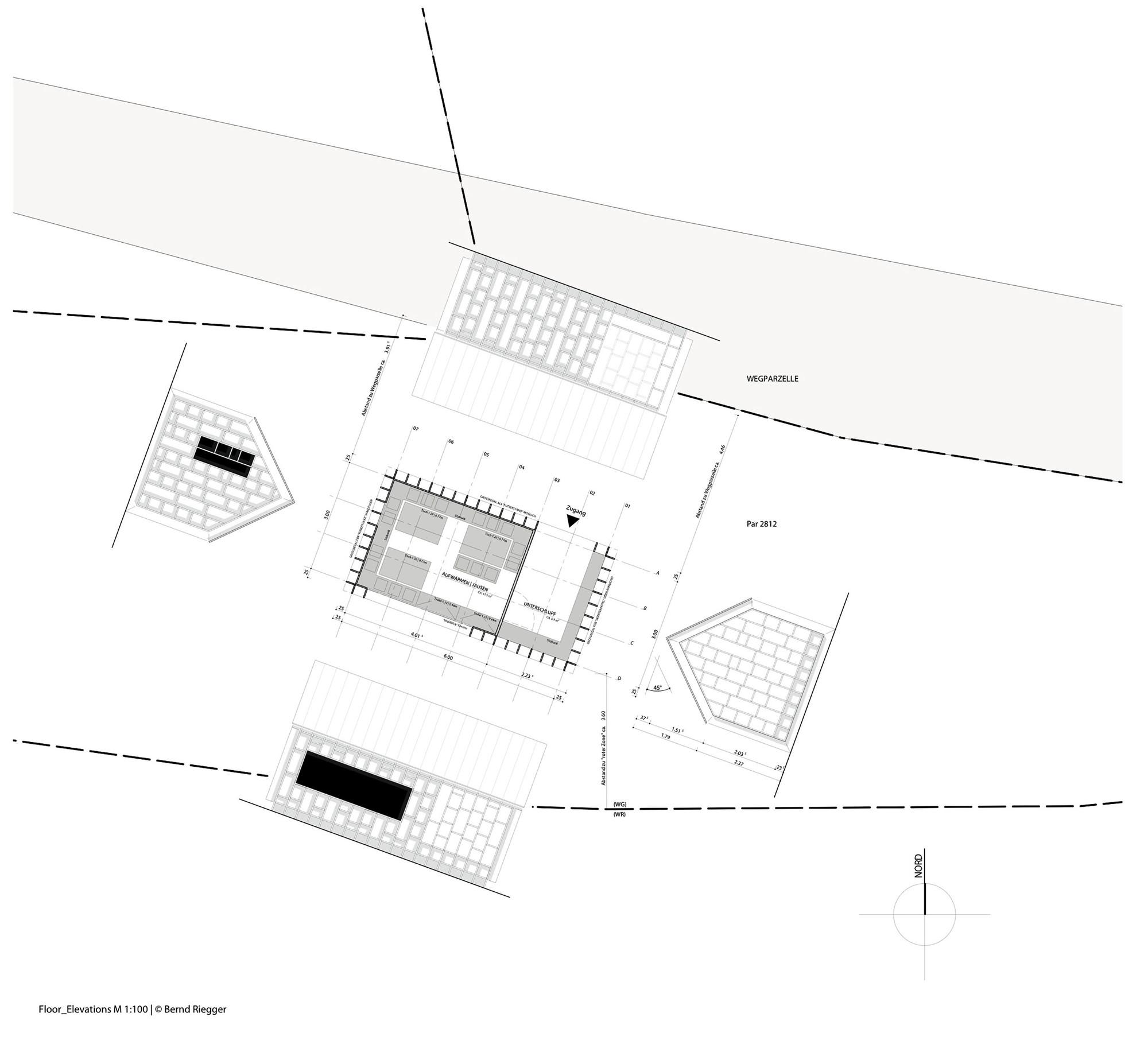 Forest refuge bernd riegger architektur archdaily - Architektur plan ...