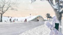 BIG diseña centro de reciclaje pensado como espacio público en Copenhague
