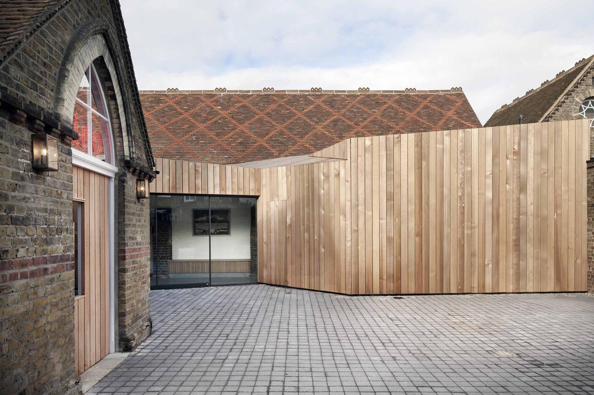 Centro Audiovisual Kino / Jonathan Dunn Architects, © Oliver Perrott