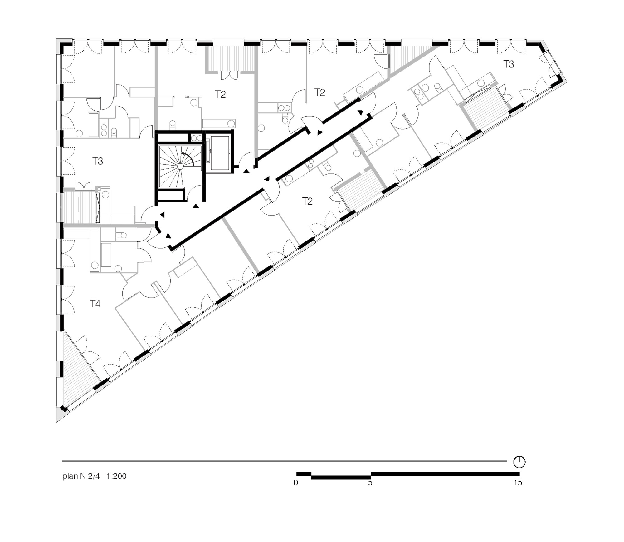 gallery of 40 housing units lan architecture 24