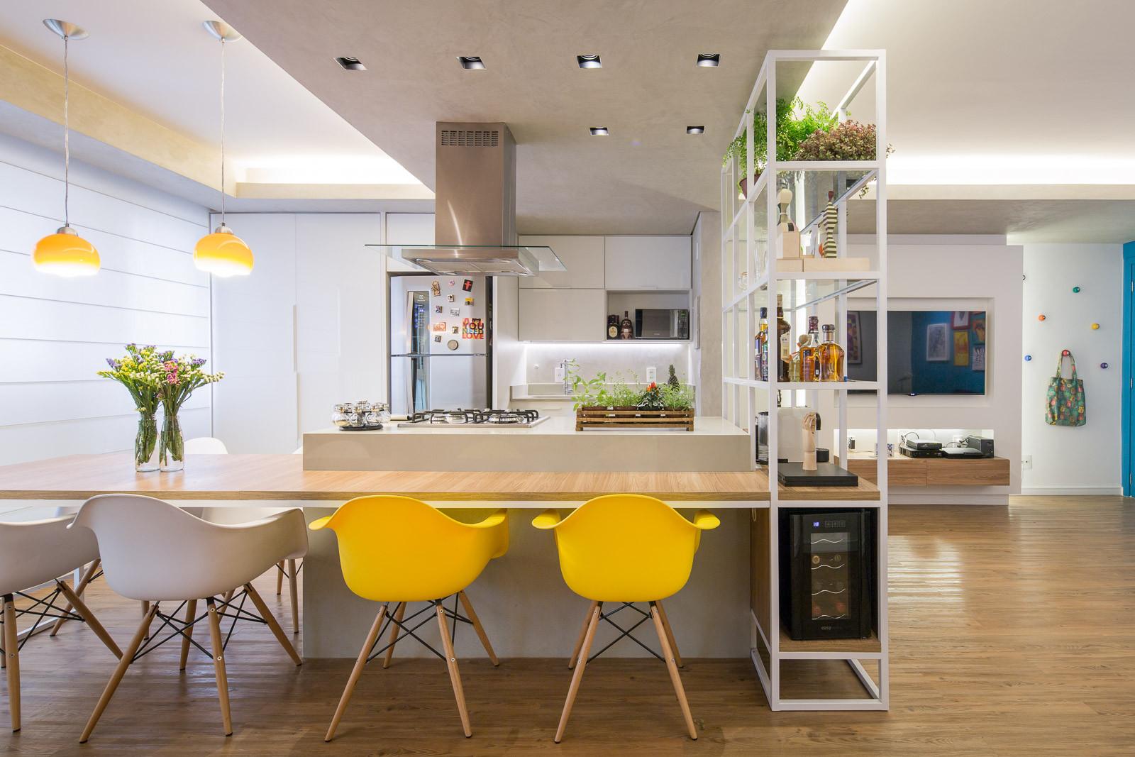 Departamento Trama / Semerene Arquitetura Interior, © Joana França
