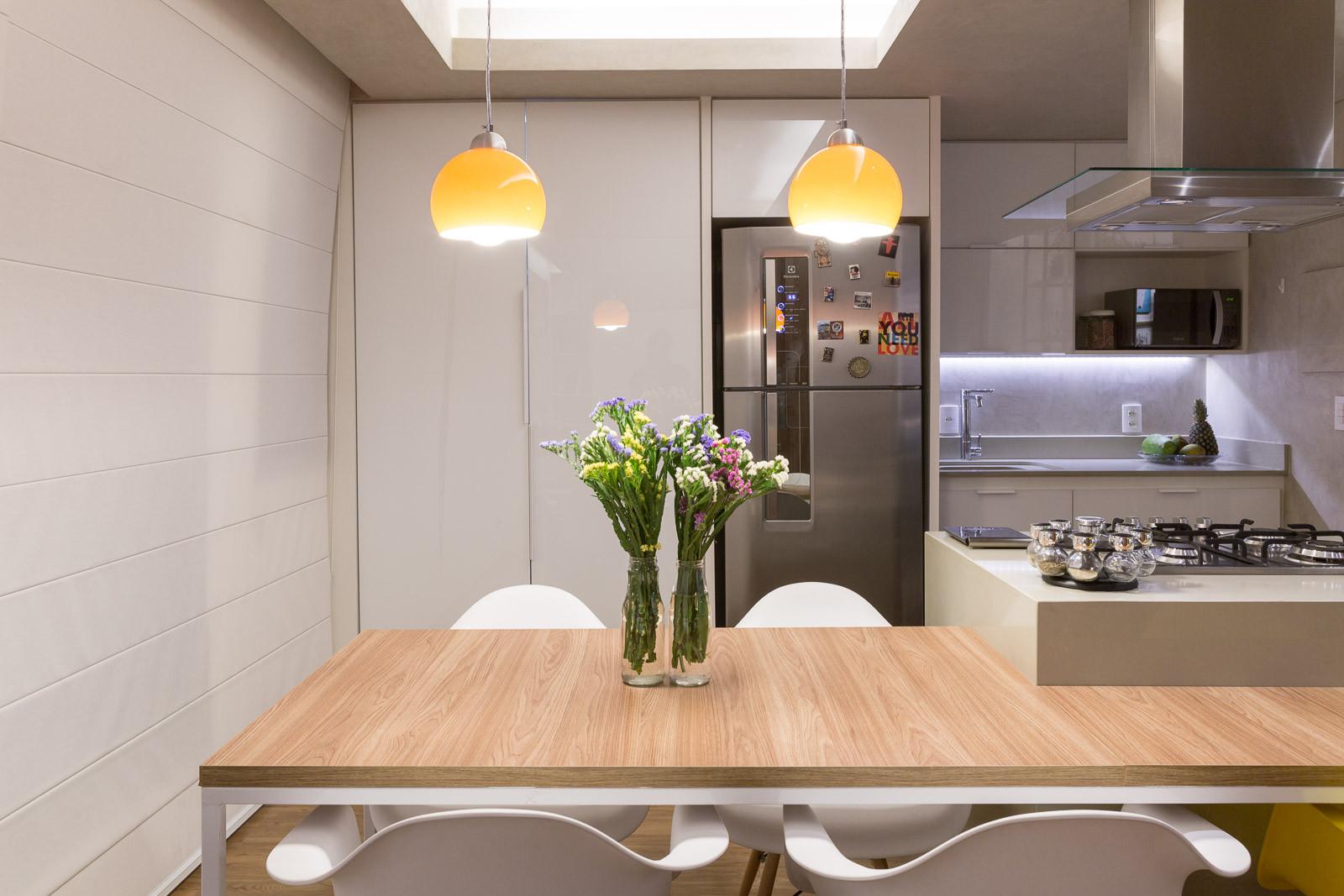 Apartamento trama semerene arquitetura interior