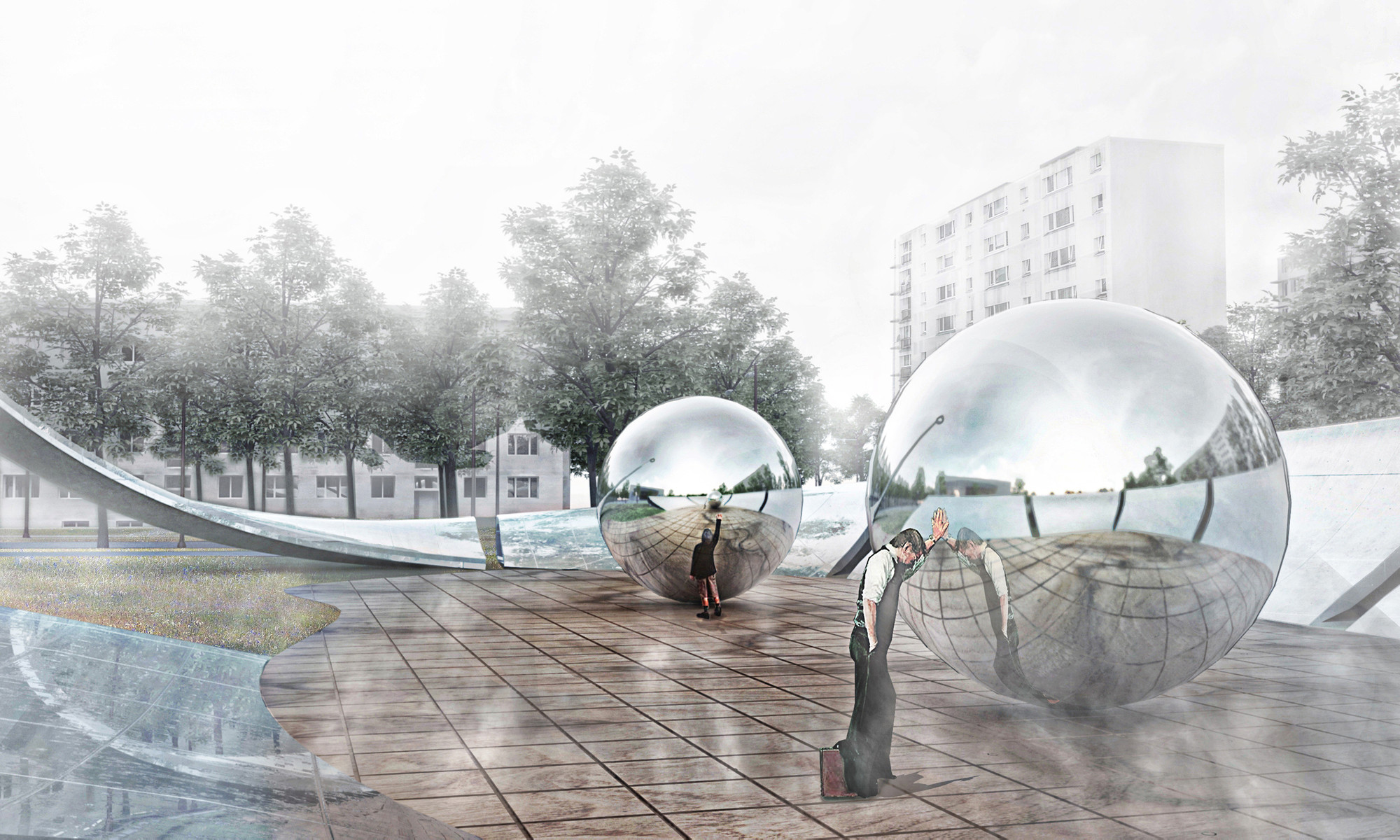 SO/AP Architectes' Warsaw Memorial Places Unity at its Center, Courtesy of SO/AP Architectes
