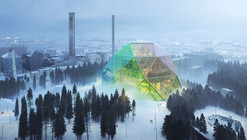 "BIG's ""Unconventional"" Uppsala Power Plant Designed to Host Summer Festivals"