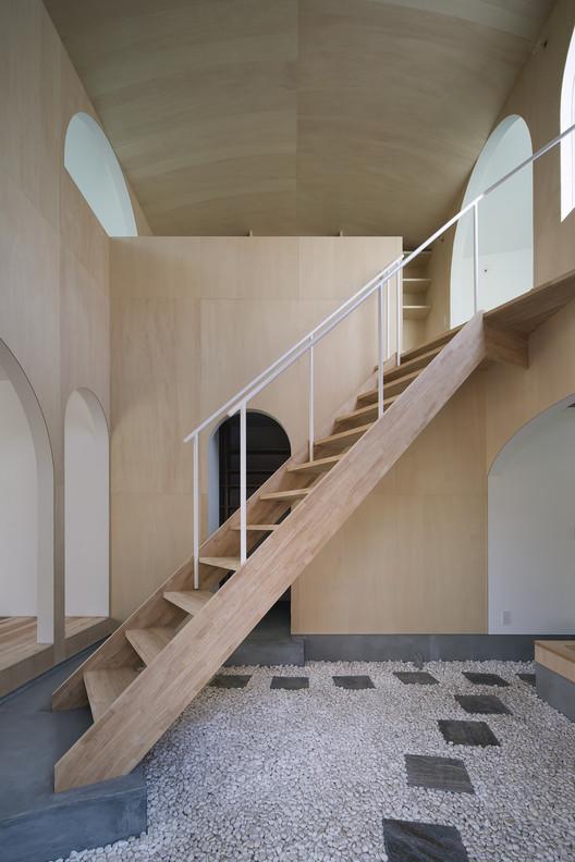 Casa-Pátio em Kudamatsu / Container Design, © Eiji Tomita