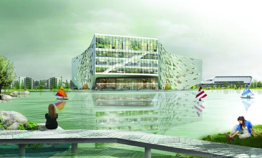 Cortesía de LYCS Architecture