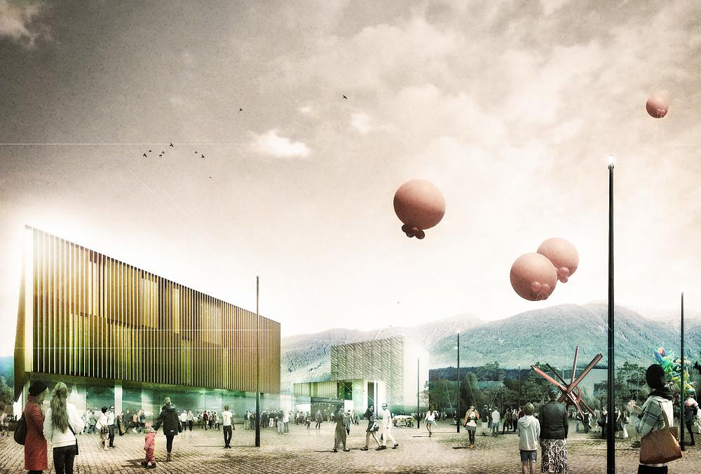 Tomas Ghisellini Architects, mención honrosa por propuesta para futura escuela de música en Italia, Cortesia de Tomas Ghisellini Architects