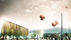 Tomas Ghisellini Architects, mención honrosa por propuesta para futura escuela de música en Italia