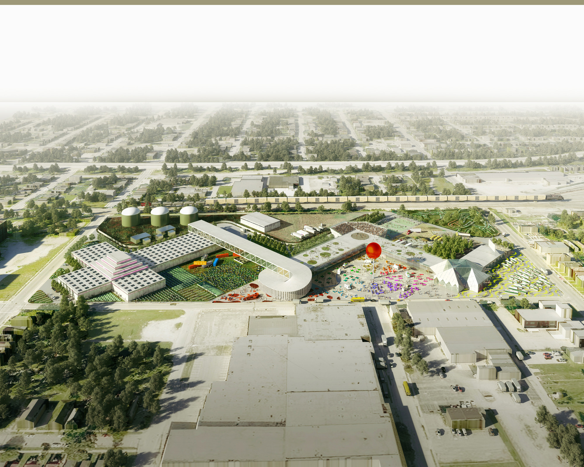 OMA Designs Food Port for West Louisville | ArchDaily