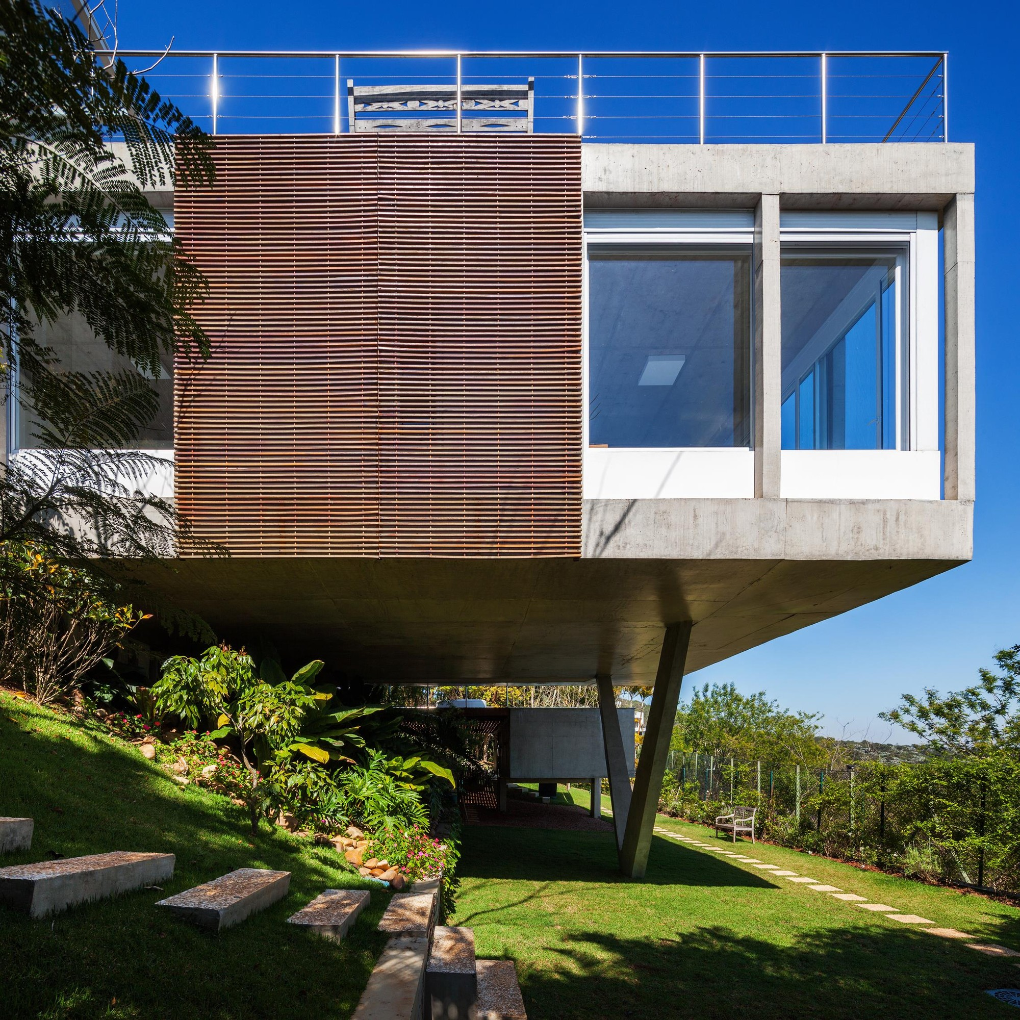 Residência Jatobás / Gesto Arquitetura, © Nelson Kon