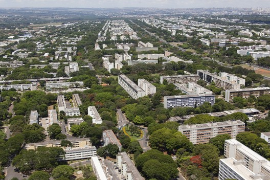 The Asa Sul district of Brasília. Image Courtesy of Portal da Copa