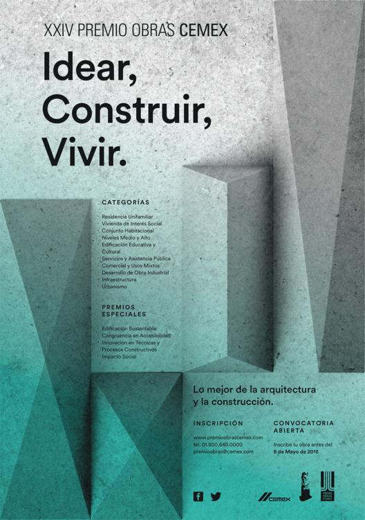 Convocatoria abierta para la edición XXIV de Premio Obras CEMEX