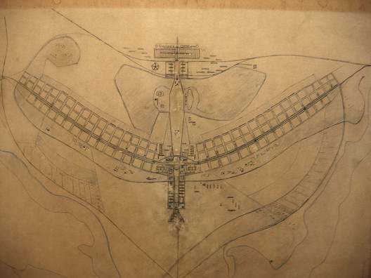 The original pilot plan. Image Courtesy of O Espaço Lúcio Costa