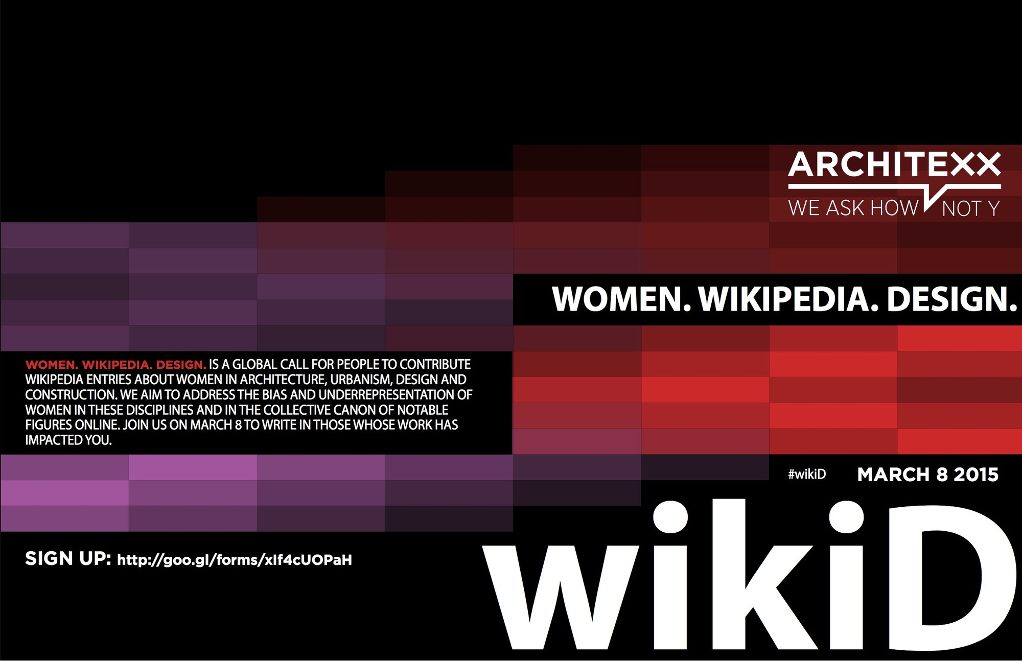 #wikiD: Help ArchiteXX Add Women Architects to Wikipedia, Courtesy of Architexx