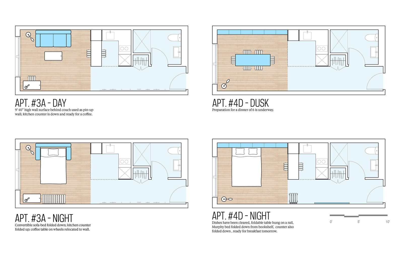 "Studio Apartment Floor Plans New York new york to complete first prefabricated ""micro-apartments"" this"