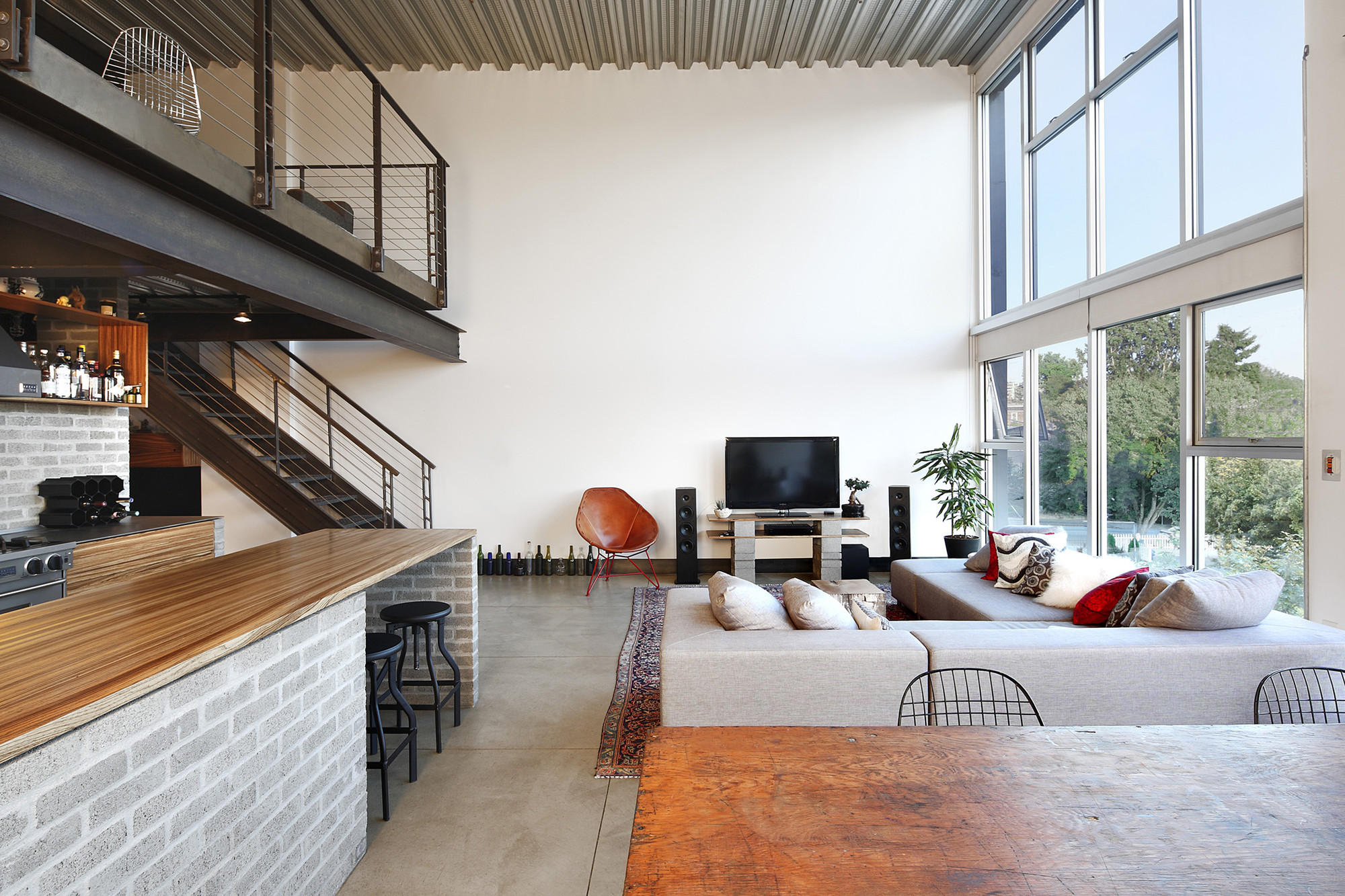 Capitol hill loft renovation shed architecture design archdaily - Ideas para loft ...