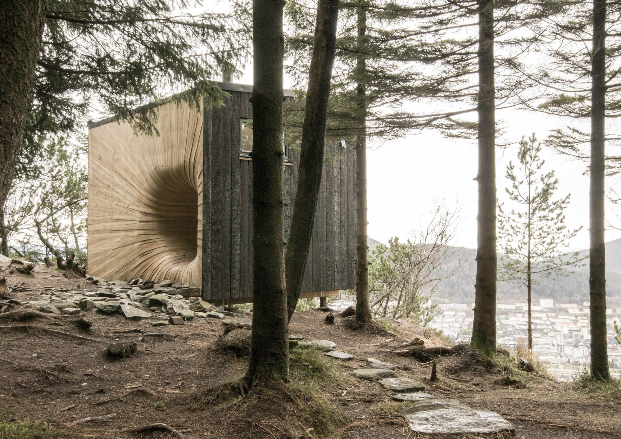 Cabaña de Montaña Tubakuba / OPA Form, © Espen Folgerø