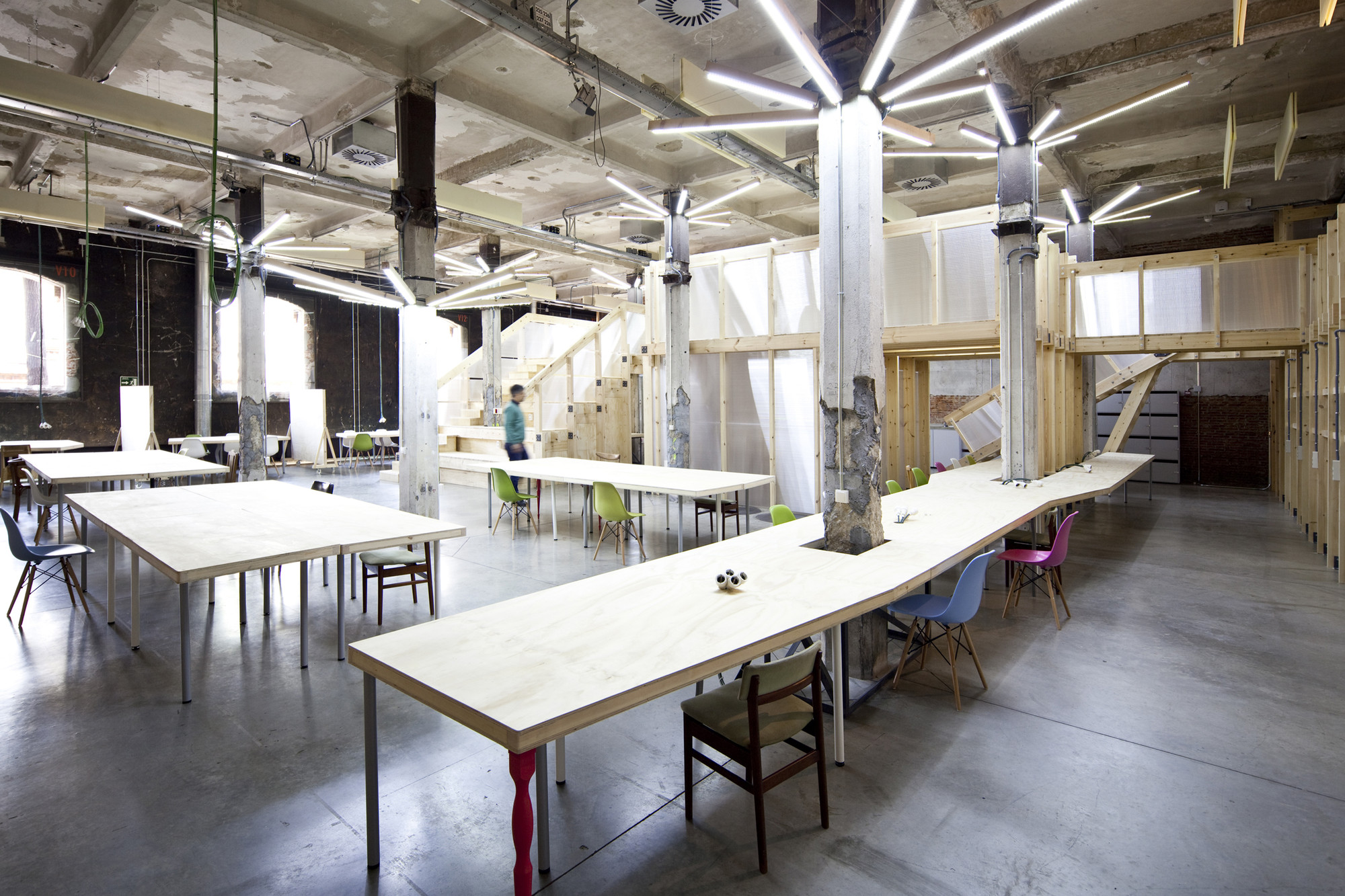 Gallery Of Factor 237 A Cultural In Matadero Madrid Office