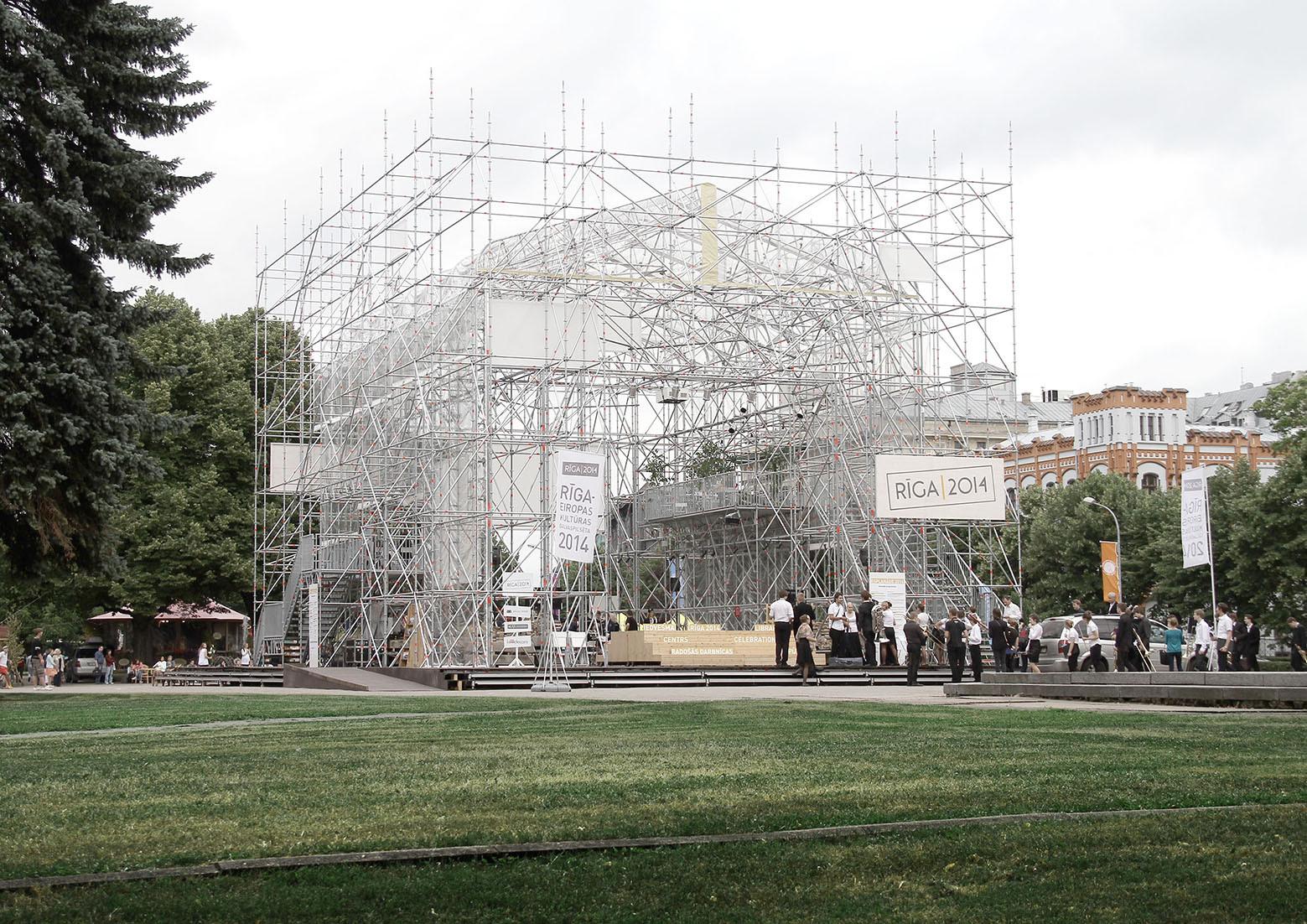 Riga 2014 Pavilion / Mailitis A.I.I.M. , Courtesy of Austris Mailitis