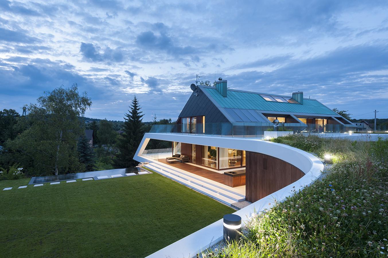 Edge House / Mobius Architects, © Pawel Ulatowski