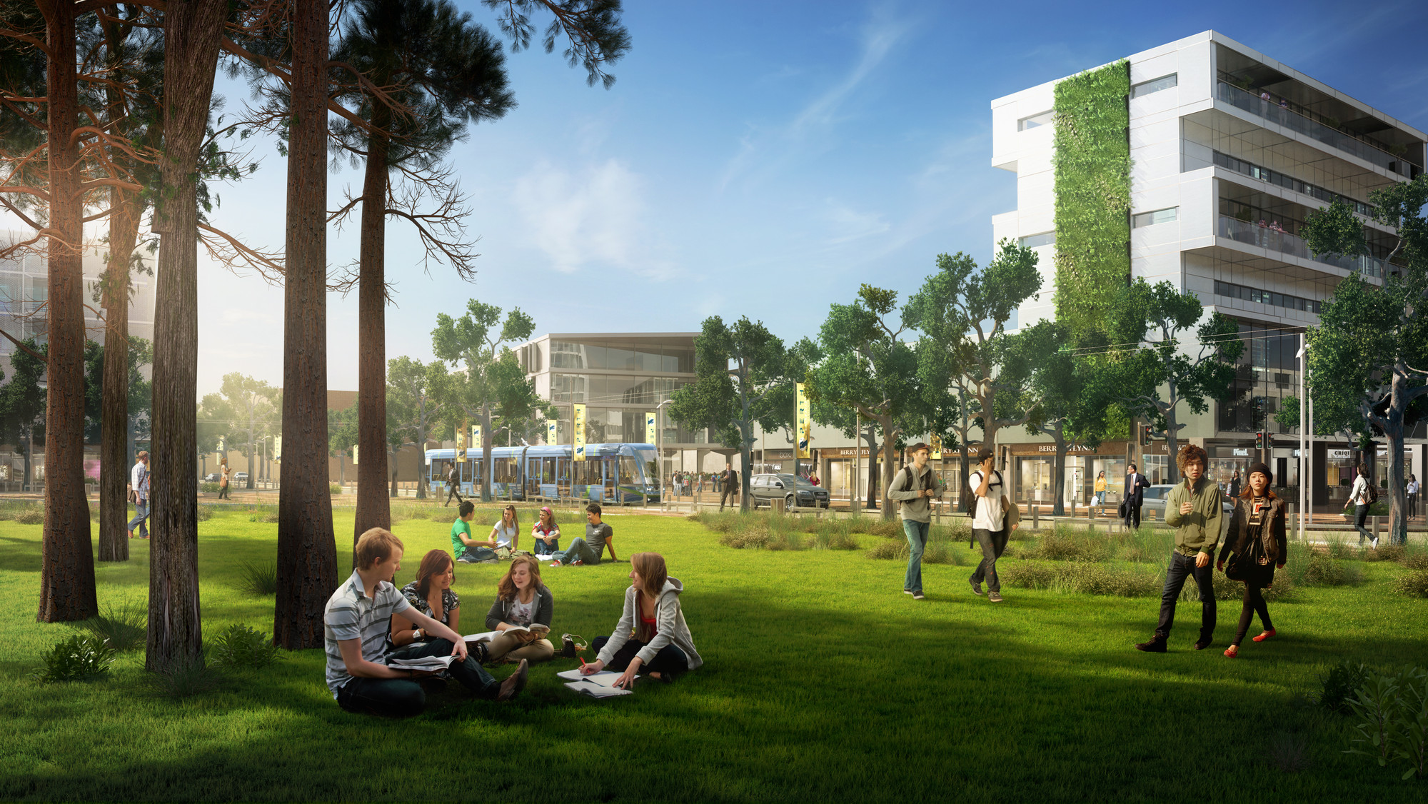 Curtin University Masterplan First to Receive 5 Green Star-Communities Rating in Australia , Courtesy of Curtin University