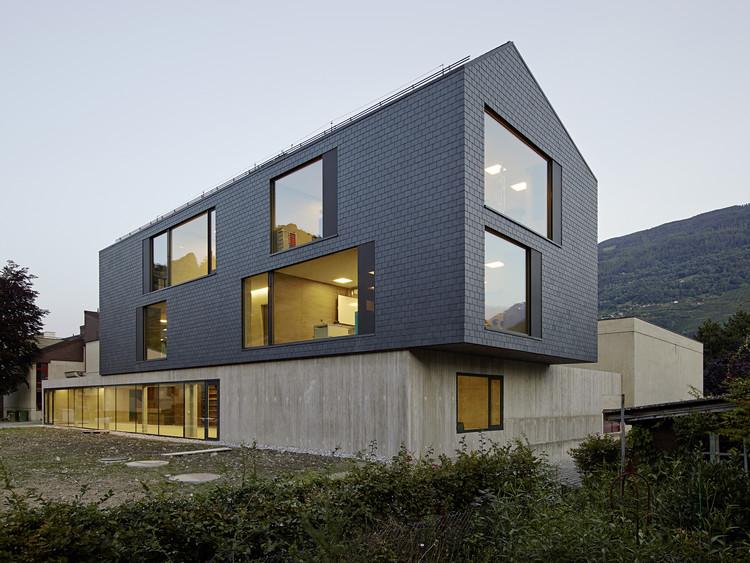 Escuela primaria en Châteauneuf Sion / Savioz Fabrizzi Architectes, © Michel Bonvin