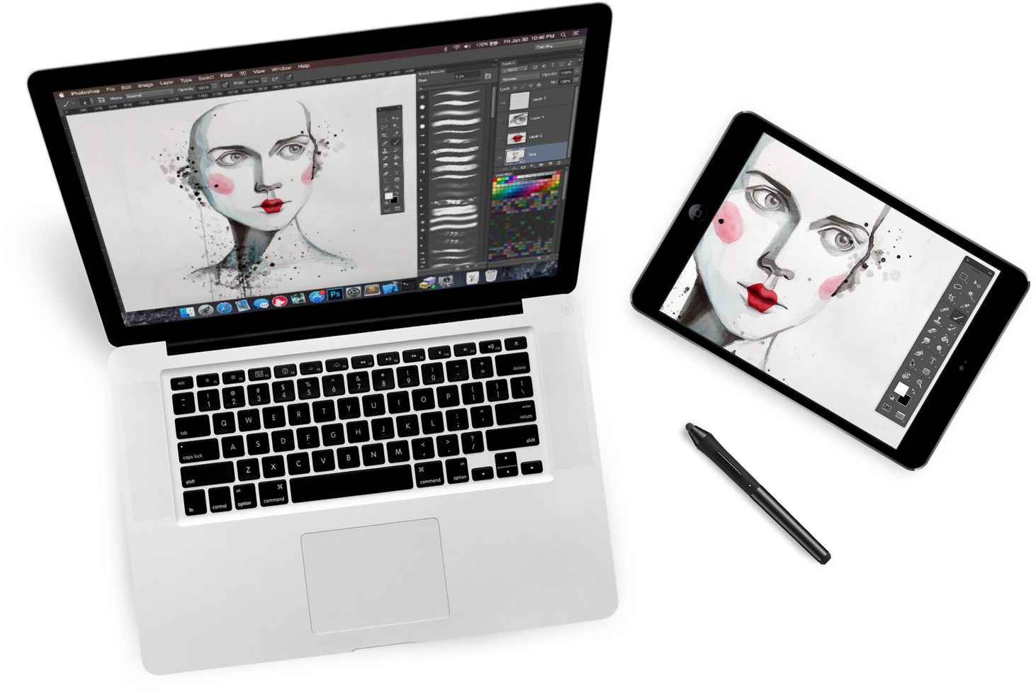 Astropad: Use Your iPad As A Professional Graphics Tablet, Astropad: use your iPad as a drawing tablet for your Mac. Image Courtesy of Astropad