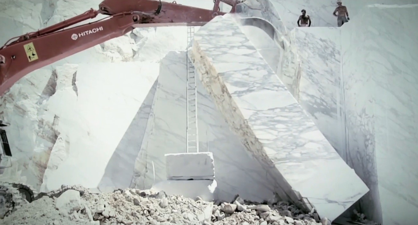 Marble Quarrying Looks Even More Awesome Than You Imagined
