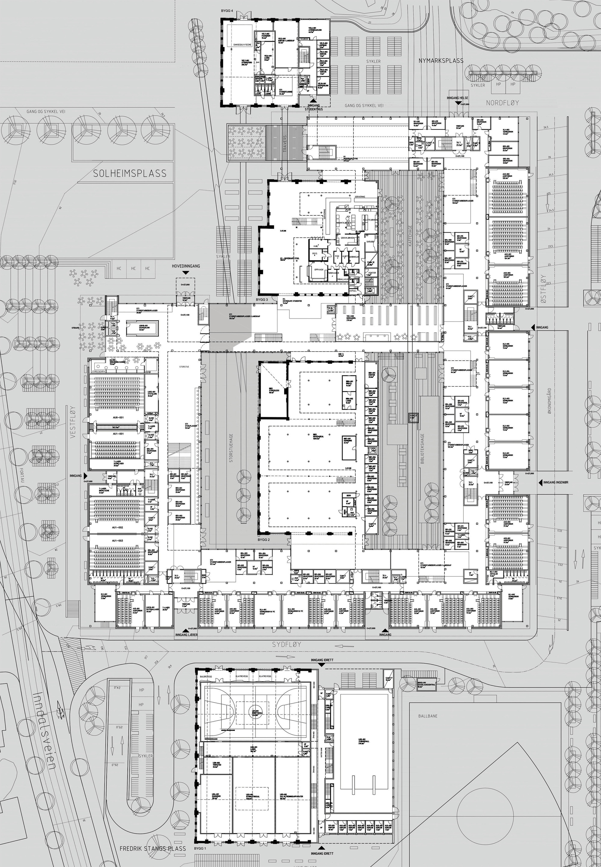 Gallery Of Bergen University College Cubo Arkitekter Hlm Arkitektur 13