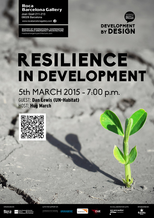 #DevelopmentByDesign: Resilience in Development / Barcelona