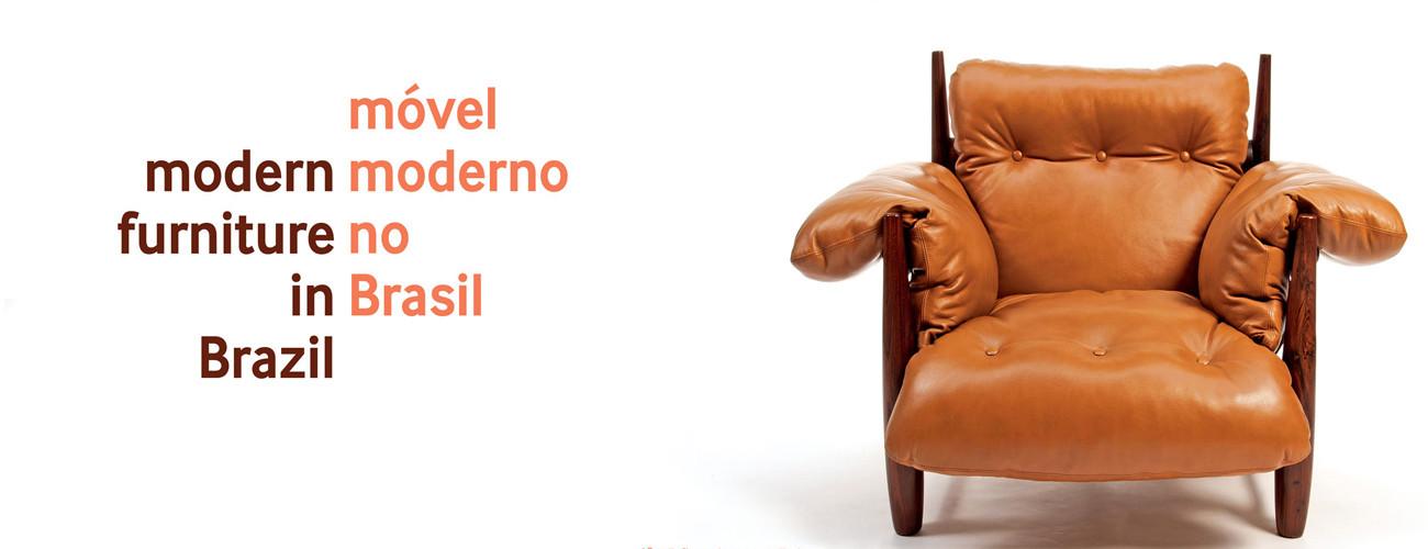 """Mesa redonda """"Móvel moderno no Brasil"""", no MCB, Imagem via Museu da Casa Brasileira"""