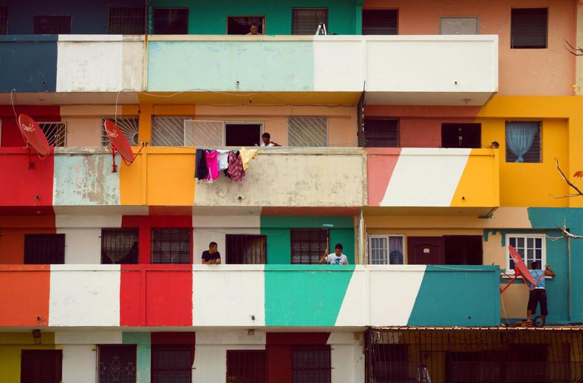 Arte e Arquitetura: oito pinturas urbanas que fortalecem a comunidade por Boa Mistura, Cortesia de Boa Mistura