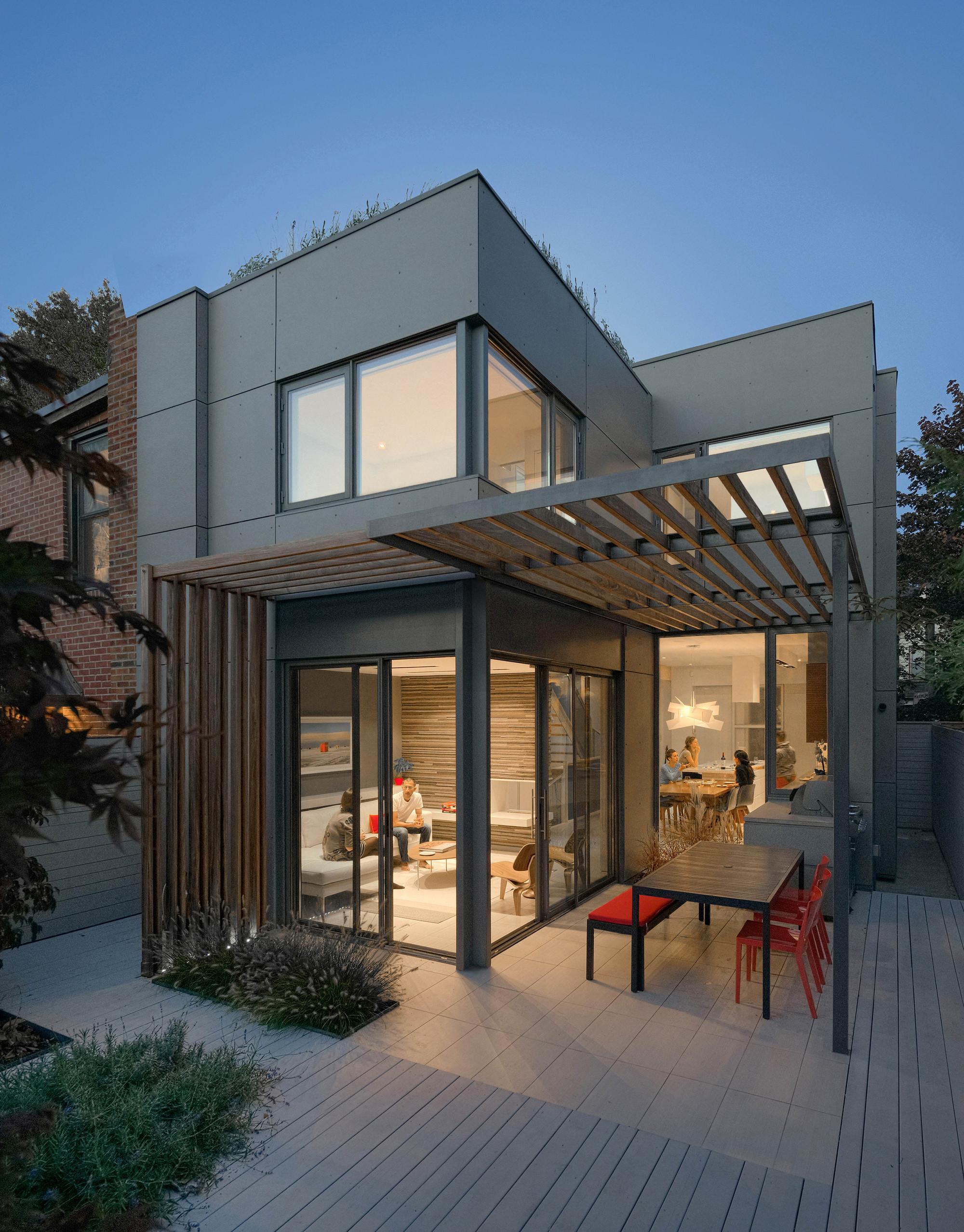 Galeria de casa atrav s dubbeldam architecture design 8 for Techos para galerias exterior