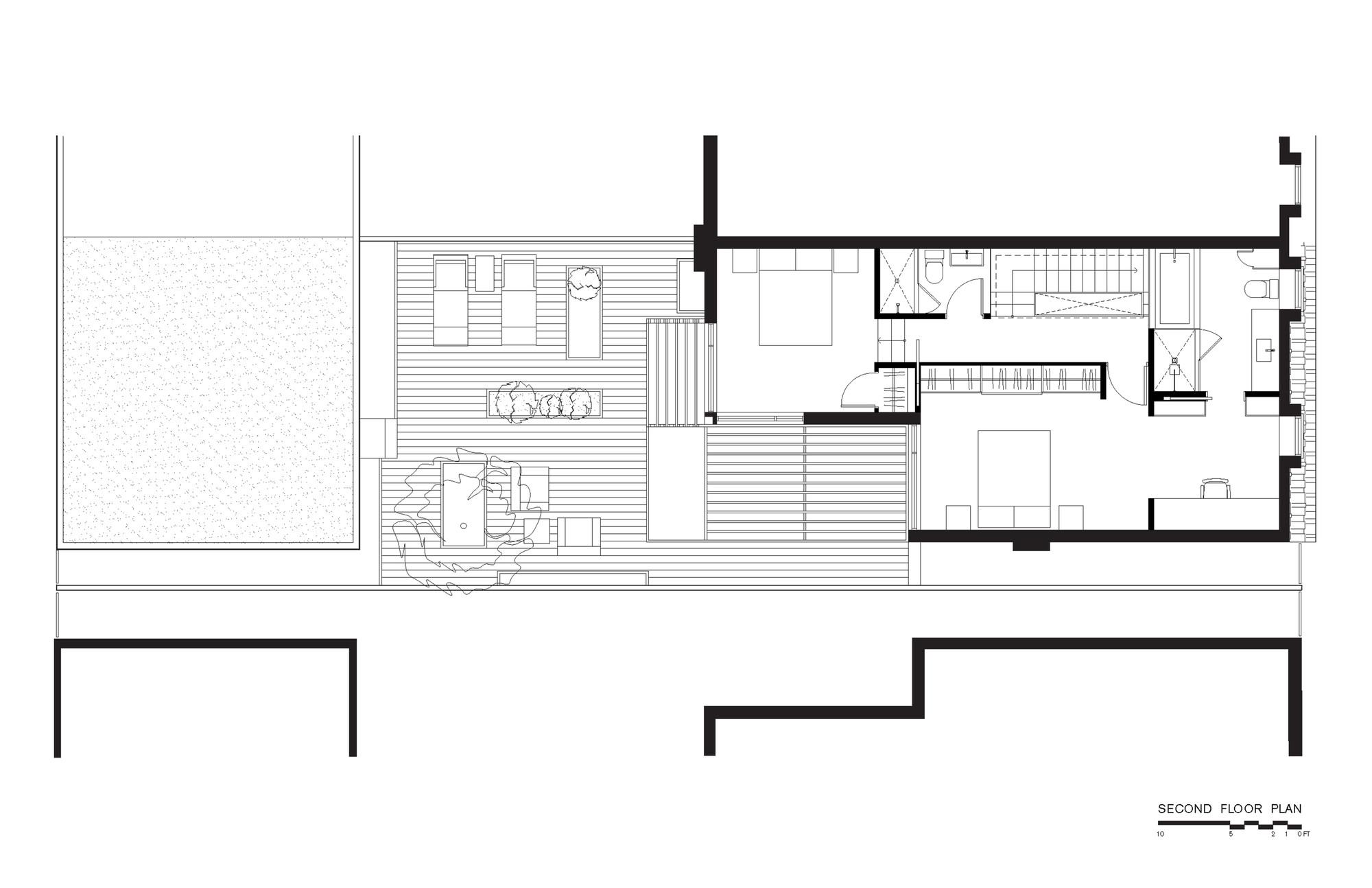 gallery of through house dubbeldam architecture design 14. Black Bedroom Furniture Sets. Home Design Ideas