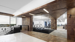 Offices Broccolini Construction / Figurr Architects Colective