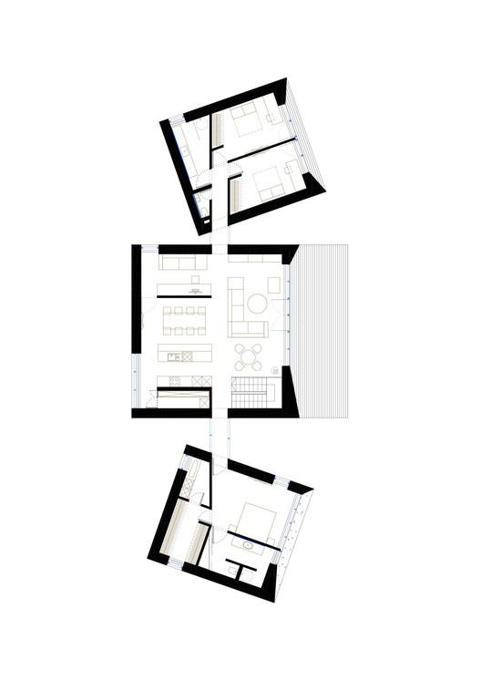 Casa familiar en palanga uab architektu biuras for Copying house plans