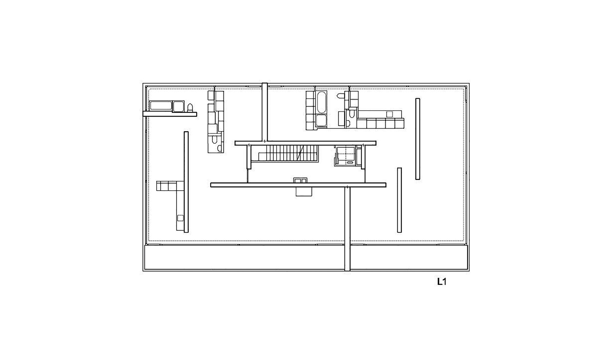 Garage Floor Plans With Apartments Apartment Building On Forsterstrasse Christian Kerez