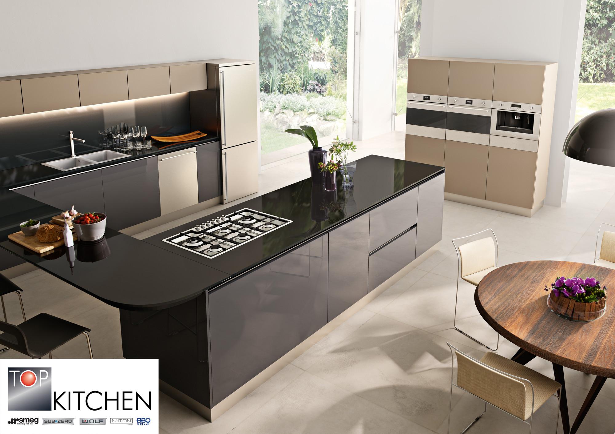 Top Kitchen en Plataforma Arquitectura