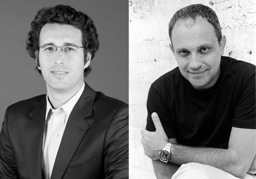 Fernando Vidal e Arthur Casas. Image Cortesia de Expo Revestir
