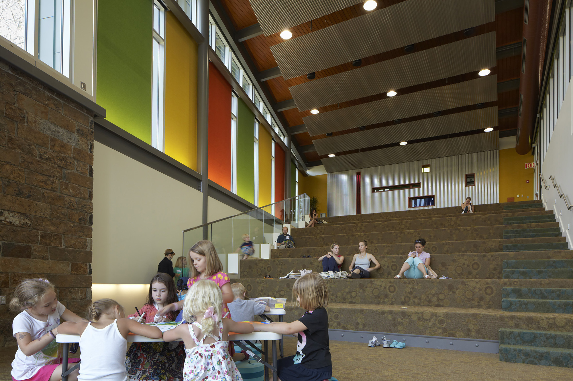 CALS Childrens Library Polk Stanley Wilcox Architects