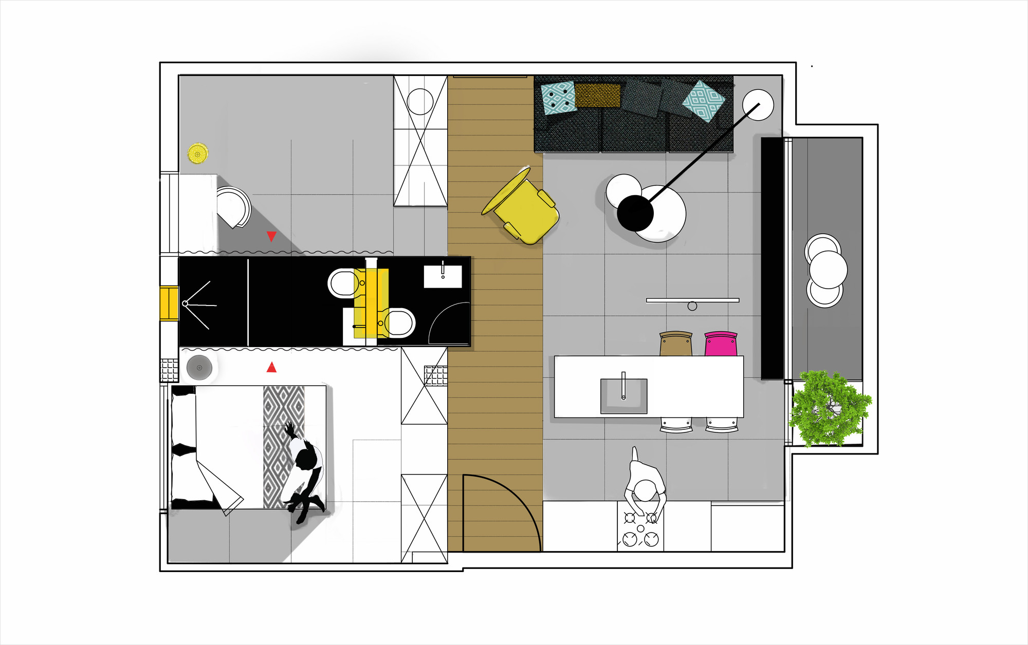 Gallery Of Apartment In Tel Aviv Amir Navon Studio Maayan