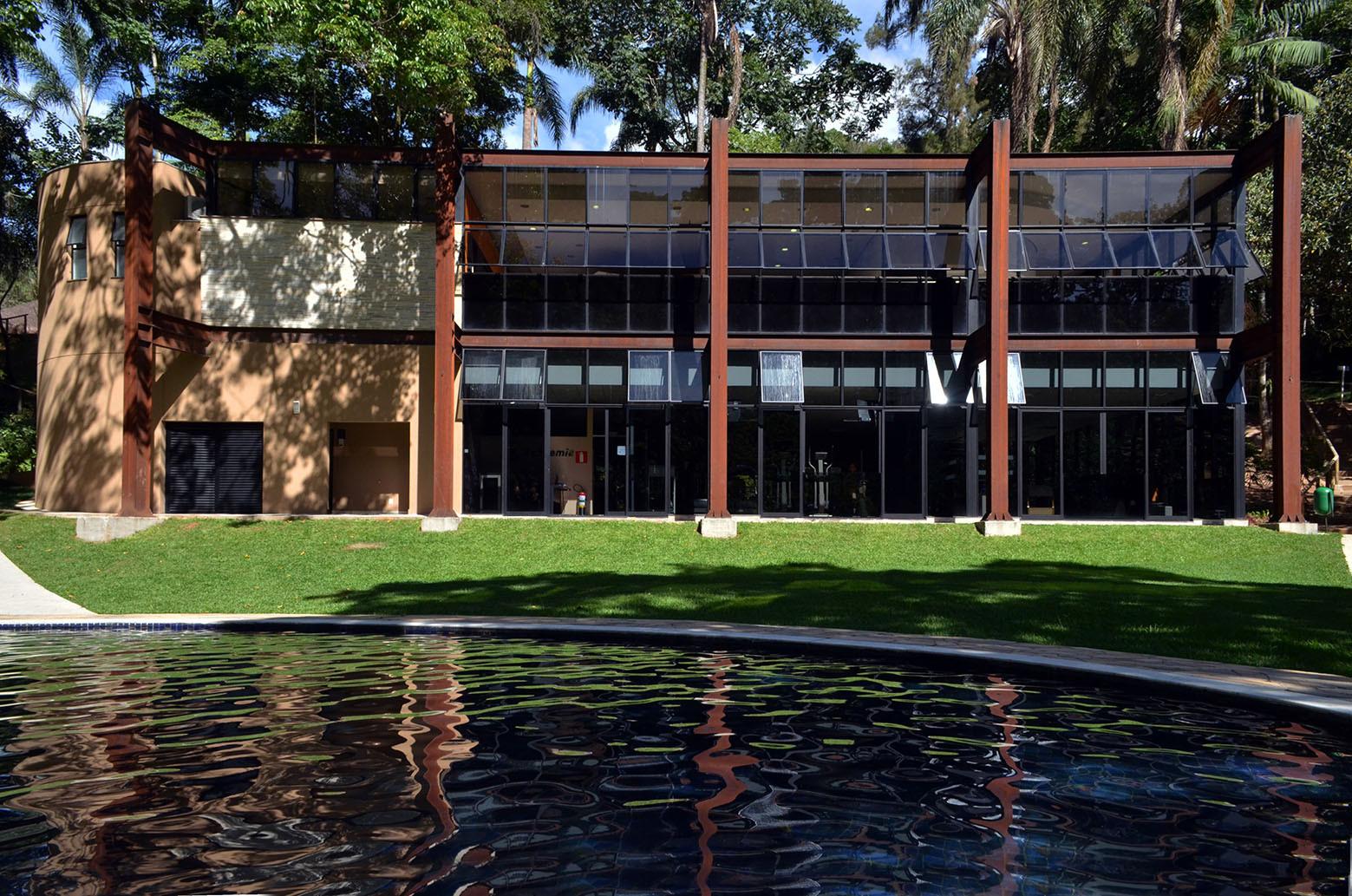 Vestiário Clube Campestre / João Diniz Arquitetura, © Marcilio Gazzinelli, Isabel Diniz & João Diniz