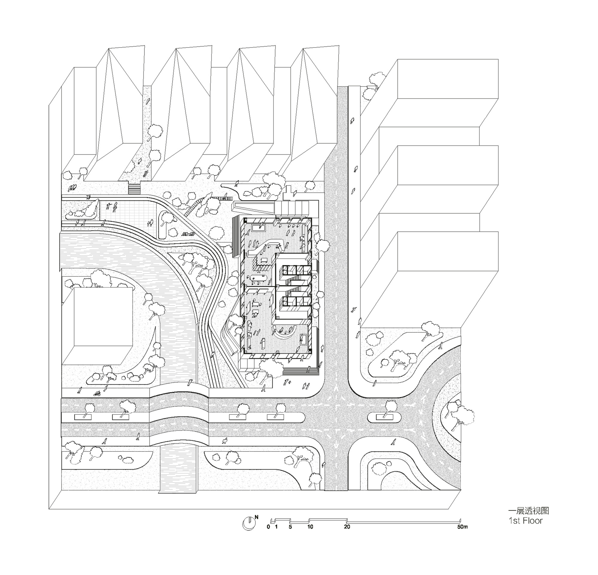 songjiang art campus archi union architects archdaily