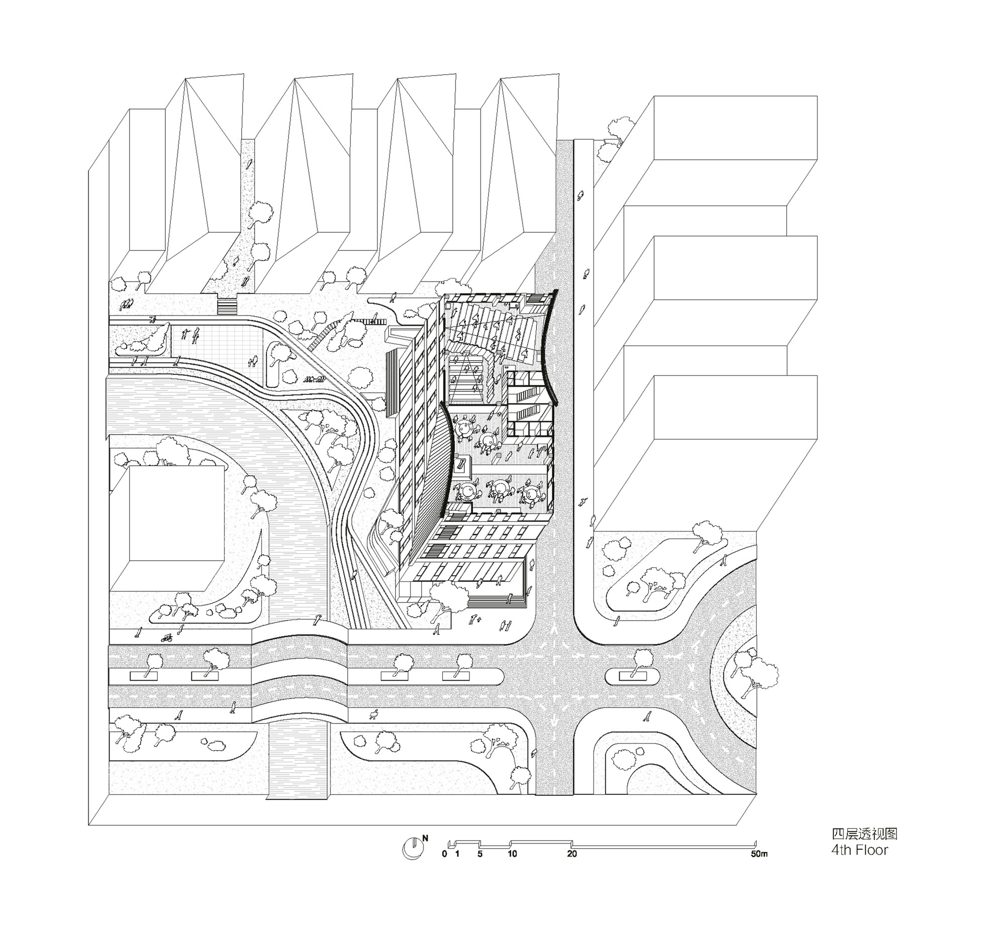 Gallery Of Songjiang Art Campus Archi Union Architects 24 T800 Wiring Diagram Campusfourth Floor Plan