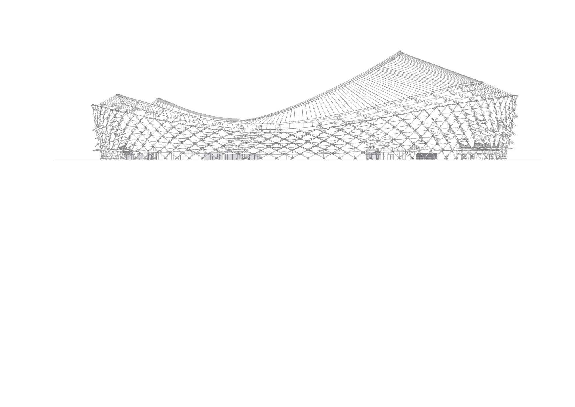 Gallery of Hazza Bin Zayed Stadium / Pattern Design - 15